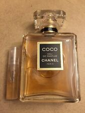 CHANEL COCO EAU DE PARFUM 2ML Sample Spray Mini Travel Perfume Decant *READ*