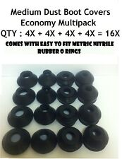 UNIVERSAL MEDIUM TRACK ROD END BALL JOINT RUBBER DUST BOOT COVERS MULTIPACK 16X