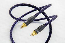 DH Labs Silver Sonic Glass Master Toslink 0.5 meter Glass Optical Cable