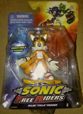 "Sonic Free Riders Action Figure Miles Tails Prower Sega Toy 3.5"" NEW FR/shp"