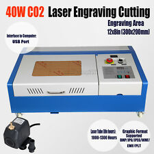 High Precise 40W CO2 USB Port Laser Cutting Cutter Engraving Machine Engraver