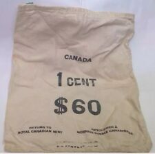 Royal Canadian Mint 1 Cents Empty Bag