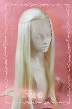 Der Hobbit-Film Thranduil handgewebt Hell Blonde Lace Front Perücken Wig