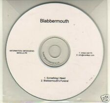 (K25) Blabbermouth, Something I Need - DJ CD