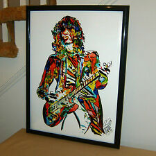 Jimmy Page, Led Zeppelin, Guitar Player, Hard Rock, Blues, 18x24 POSTER w/COA 2