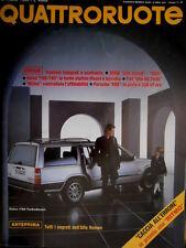 Quattroruote 360 1985 I segreti dell'Aòfa Romeo. Porsche 962 a 300h [Q.32]