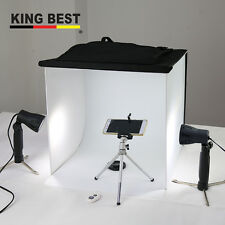 "Big Light Room 15"" Photo Studio  Photography Lighting Tent Kit Backdrop Full Set"