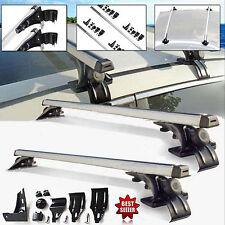 "2PCS 47"" Car Van Top Luggage Cross Bar Roof Rack Ski Carrier For Toyota Nissan"