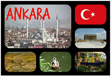 ANKARA, TURKEY - SOUVENIR NOVELTY FRIDGE MAGNET - NEW - GIFT / XMAS