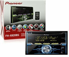 Pioneer FH-X820BS Double Din In Dash CD Player w/ Built in Bluetooth FHX820BS