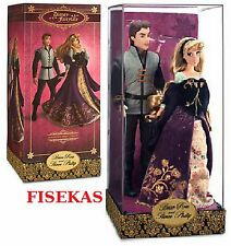 Disney Store Fairytale Designer Collection LE Aurora and Prince Phillip Doll NEW