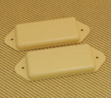 PN-DNH-C Cream No-Hole Closed P-90 Dogear Guitar Pickup Cover Set