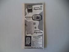 advertising Pubblicità 1953 RADIO MINERVA/FRIGORIFERI TELEVISORE AQUILA