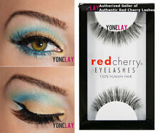 1 Pair AUTHENTIC RED CHERRY #415 Ivy False Eyelashes Human Hair Fake Eye Lashes