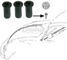 Seals for VW Emblem T1 Beetle Bug T3 Ghia Badge Rubber Front Grommet Packs of 3