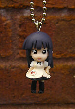 WORKING!! Ball Key Chain Figure Mascot Aoi Yamada WAGNARIA Maid Cafe Anime 581-5
