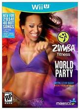 NEW Zumba Fitness: World Party Nintendo Wii U Exercise Game Only *sealed*