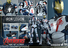 """HOT TOYS 12"""" MARVEL AVENGERS AOU IRON LEGION FIG 1/6 SCALE AGE OF ULTRON MAN NEW"""