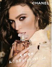 Publicité Advertising 2011  Parfum CHANEL  coco mademoiselle de CHANEL