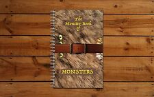Harry Potter Monster Book of Monsters Notebook! Great for Back to School/Gift!