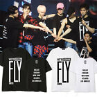 GOT7 Tshirt FLY IN USA T-shirt Tee Kpop Concert Unisex Jackson JB JR  New Cotton