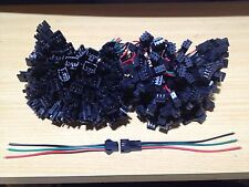 10 pairs of 3 pin JST SM connectors for WS2811 WS2812B LED strips