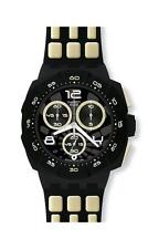 SWATCH - CHRONO - 007 DOMINIQUE GREENE QUANTUM OF SOLACE - SUIB402 - NEW !