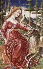 Metal Sign Francesco Di Giorgio Martini Chasity With The Unicorn A4 12x8 Alumini