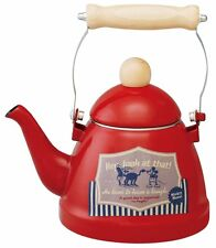 Skater Enamel Kettle 1.38L Mickey Mouse Red EKT14