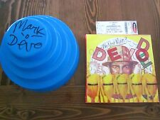 Rare Ultra Devo-Lux Limited Edition Box Set DEVO Band Signed, w hat lot bundle