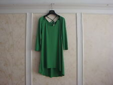 NWT ANNE FONTAINE ETHAN GREEN DRESS 40  MADE IN FRANCE