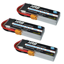 3pcs HRB 11.1V 2200mAh 30C-60C RC Lipo Battery Airplane Trex-450 Helicopter XT60