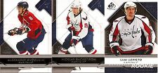 2008-09 UD Upper Deck SP Game Used Washington Capitals Team Set w/ RC's (3)