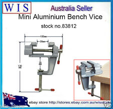"3.5"" Aluminum Small Jewelers Hobby Clamp On Table Bench Vise Mini Tool Vice83812"