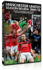 New! Manchester United 2009/2010 Season Review Man Utd 09/10