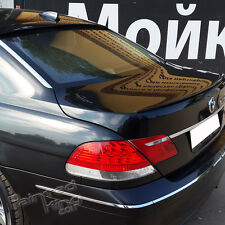 Painted Combo 2002-2008 BMW E65 7-Series A Type Roof Spoiler + M3 Trunk Spoiler