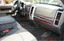 DODGE RAM 1500 2500 3500 SLE SLT INTERIOR WOOD DASH TRIM KIT 2009 2010 2011 2012