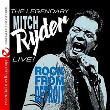 Live! Rock From Detroit - Mitch Ryder (2015, CD NEU)