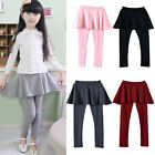 New Girls Leggings Pants Kids Skirt-Pants Cake Skirt Baby Toddler Trousers