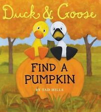 Duck & Goose, Find a Pumpkin Oversized Board Book