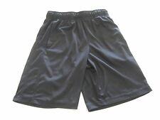 Boys  Shorts Size S8 Gently Worn Black with muted diamond pattern  BC601