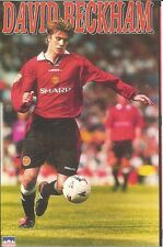 DAVID BECKHAM 96 MANCHESTER UNITED Starline Poster MINI Promo Piece 3x5