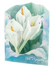 """3-D Swing Cards by Santoro """"WITH SYMPATHY"""" SC117"""