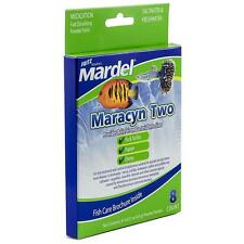 FRITZ AQUATICS - MARDEL MARACYN TWO (8 COUNT)  FRESH AND SALT WATER AQUARIUMS