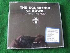 THE SCUMFROG vs BOWIE.. Loving The Alien  (2 Track CD Promo Single)