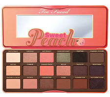 Too Faced Sweet Peach Eye Shadow Palette 18 Colors Eyeshadow Makeup Set Cosmetic