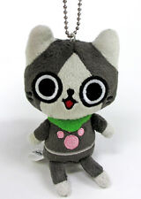 Banpresto Monster Hunter 4.5'' Cute Mascot Plush Keychain BP36226~ Felyne Melynx