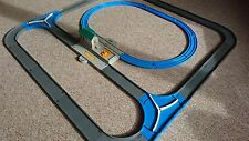Tomy Trackmaster Thomas train set. Road & rail  with STATION road, blue track