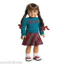 AMERICAN GIRL MOLLY SWEATER & SKIRT NIB EMILY MARYELLEN DOLL NOT INCLUDED RETIR