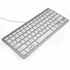 78 Key Super Thin Slim USB Wired Keyboard for Laptop iMac Macbook Window Win 7 8